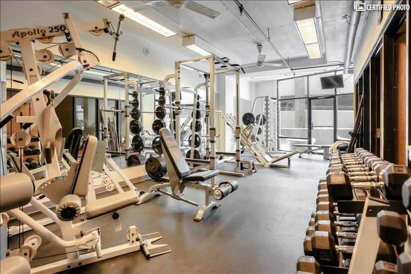 Health Club - Weight Room