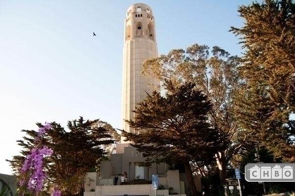 Beautiful and historic Coit Tower