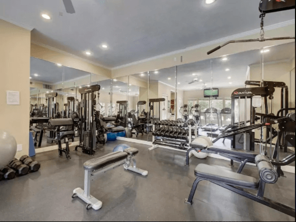 Nice Work Out Facility - Available 24/7