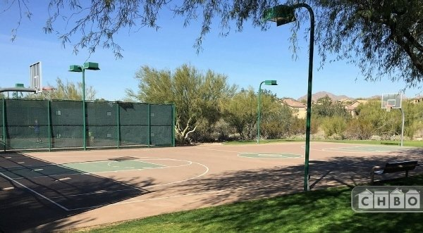 McDowell Mountain Ranch community facilities include basketb
