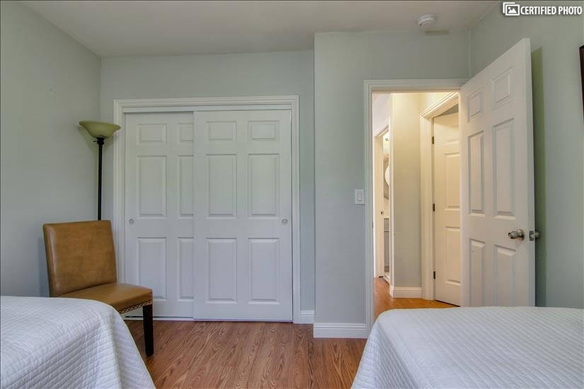 Large Closet in Second Bedroom