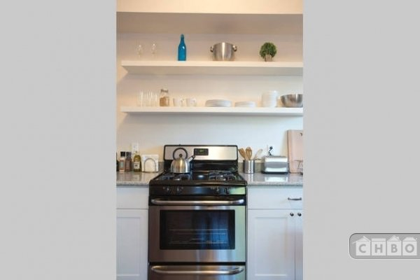 New gas range and appliances