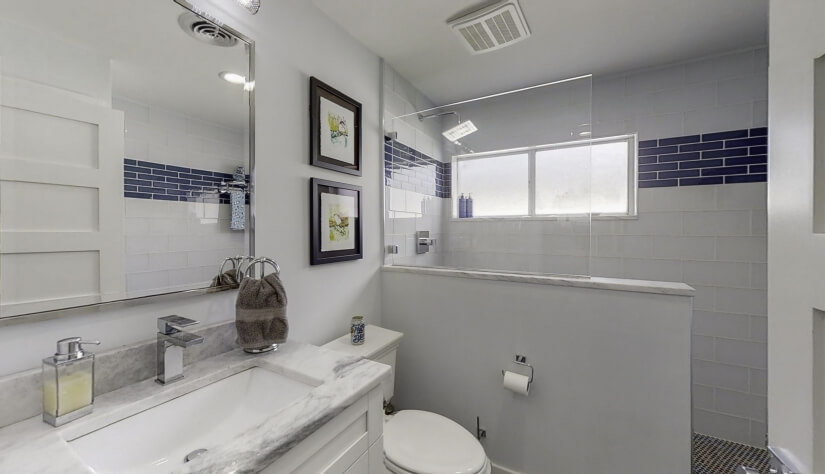 Full View of Guest Bath