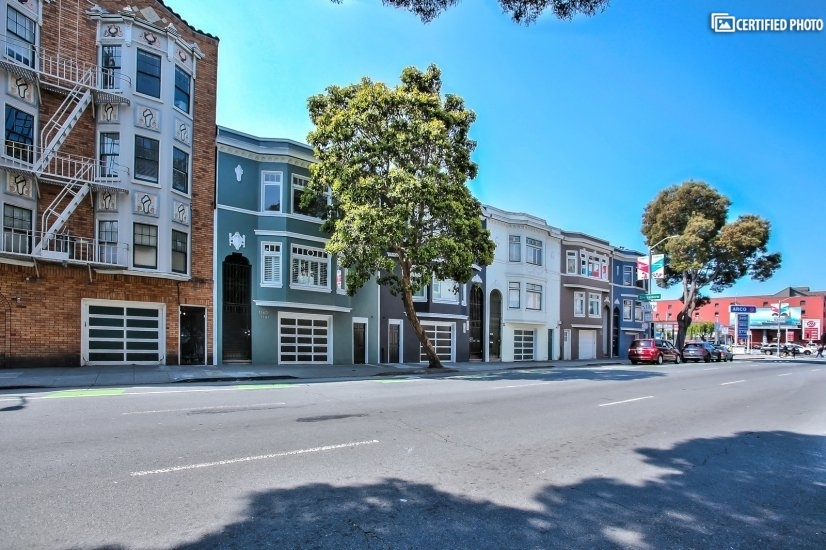 Located in NOPA, one of SF's hottest neighborhoods