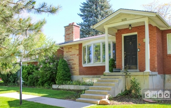 Beautiful Exterior with Large Bay Window