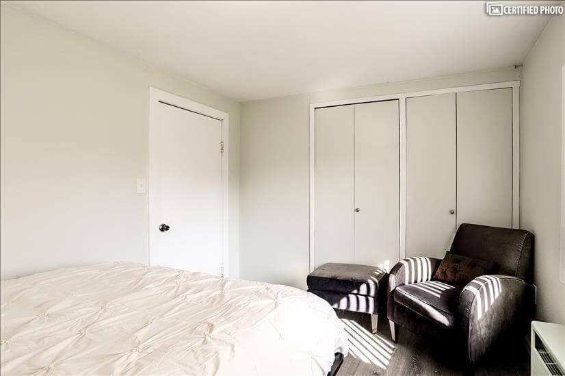 Master Bedroom with Reading Chair