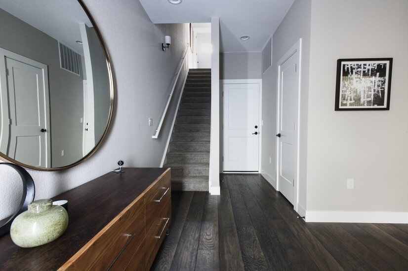 Entrance into Townhouse through Front Door