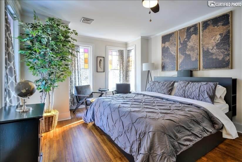 2nd Floor Master Bedroom (King)