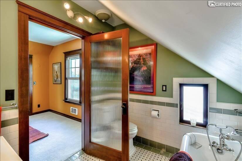 Master Bath heated floors