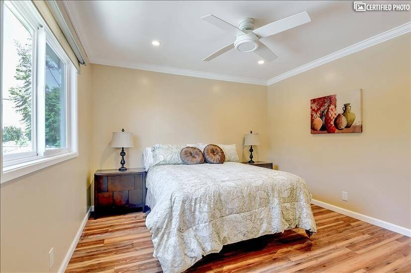 Principal Bedroom with lots of storage and ba