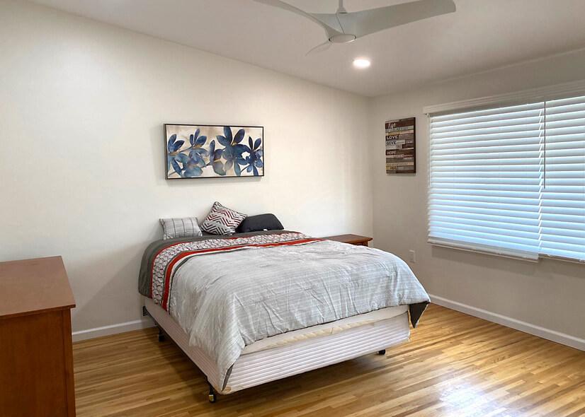 Spacious, pillow top mattress Big CLOSET