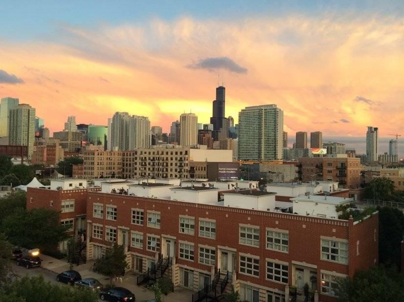Skyline view