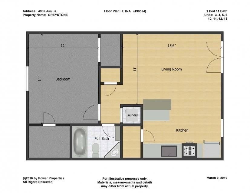 Etna Floor Plan