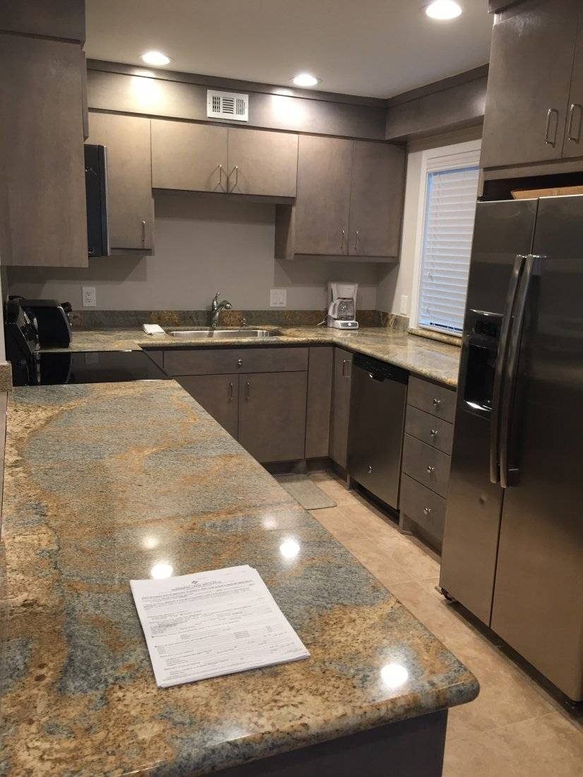 Kitchen with lots of counter space