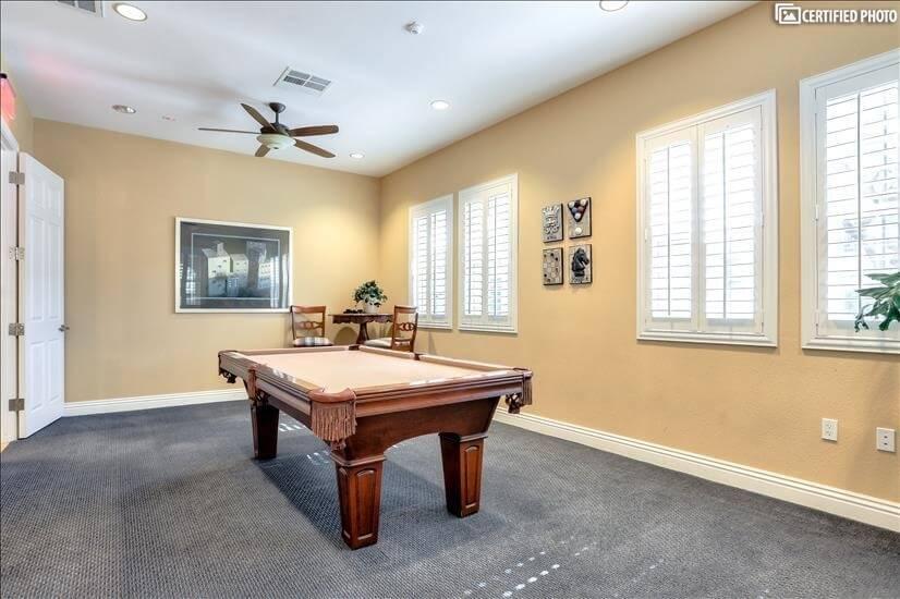 Pool Table Club House