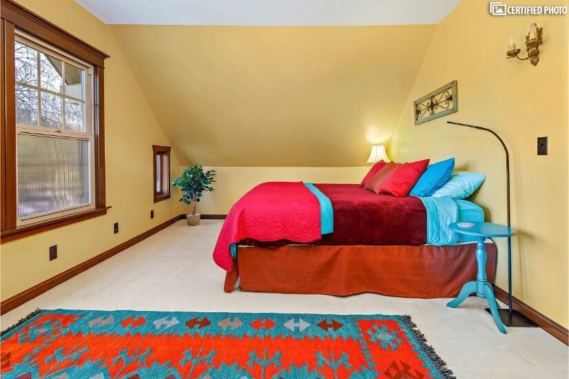 Second bedroom craftsman charm