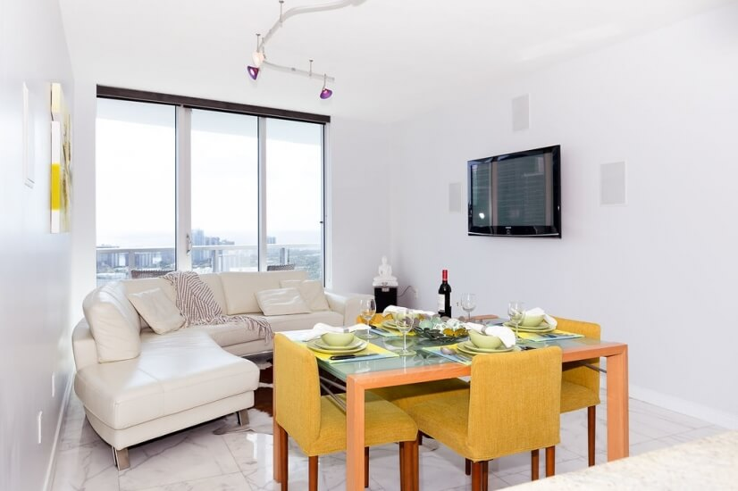 Plasma HDTV with Surround Sound