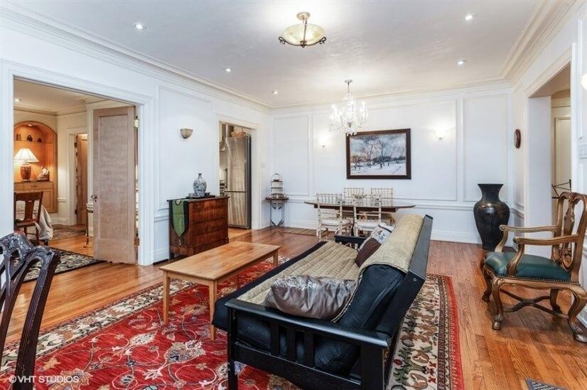 1 D living room