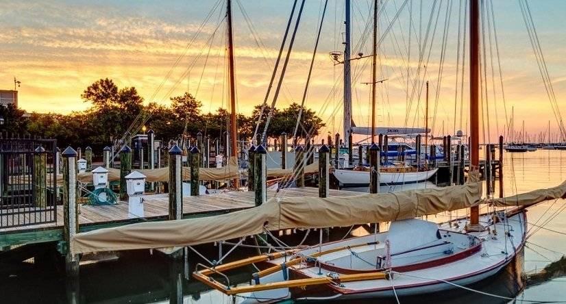 Sunrise in Annapolis
