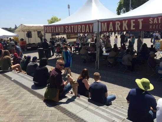 Saturday Market- 5 min walk Opens Spring 2021
