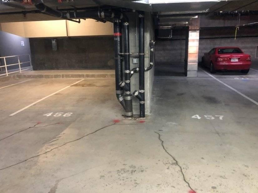 2 parking spots