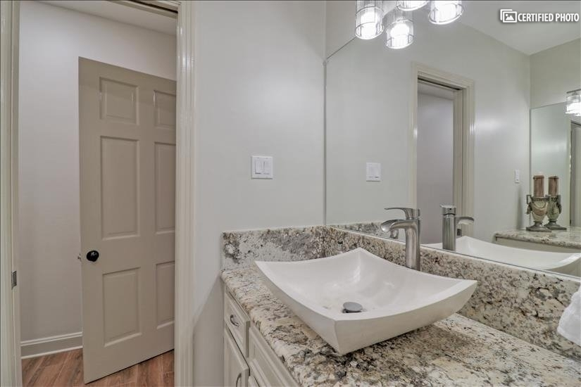 Master Bathroom - Single Sink.