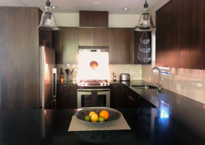Kitchen View Peninsula