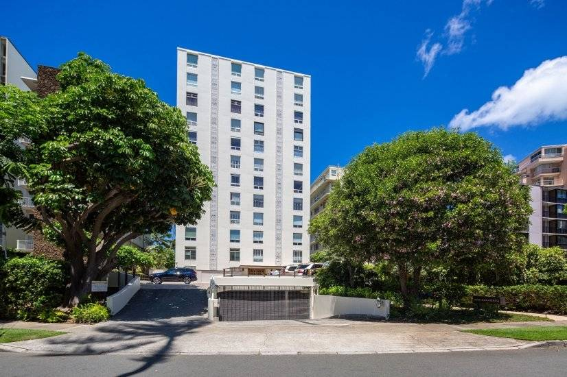 Only 2 apartments on each floor; secured parking in basement