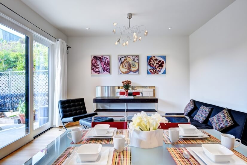 image 3 furnished 1 bedroom Townhouse for rent in Noe Valley, San Francisco