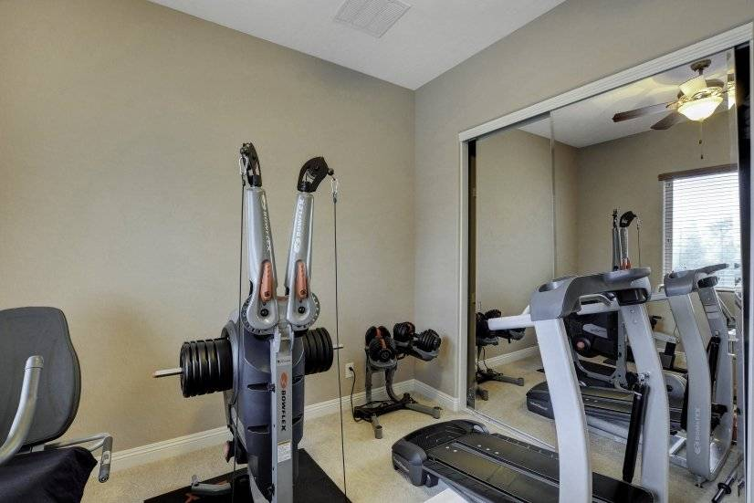 Exercise room or bedroom #3