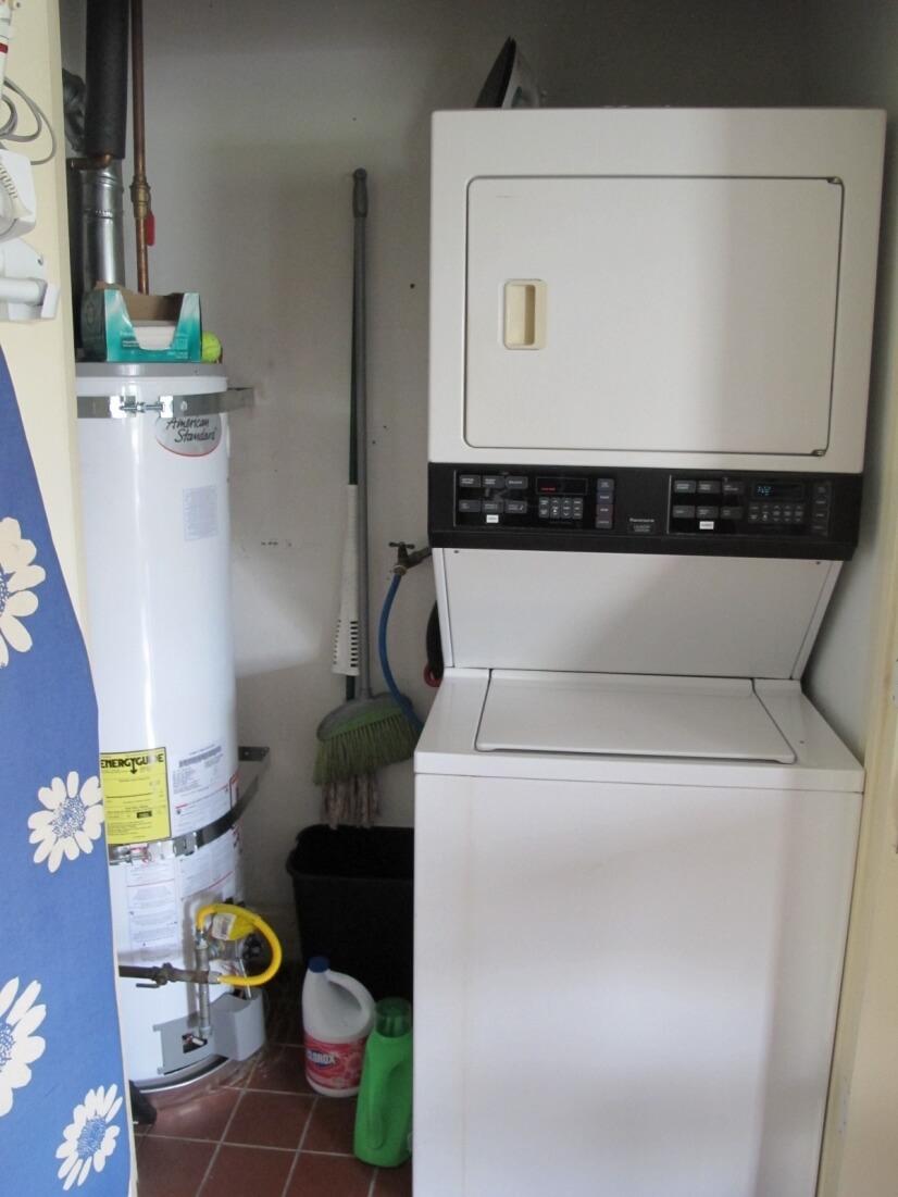Exclusive in- unit Washer & Drier