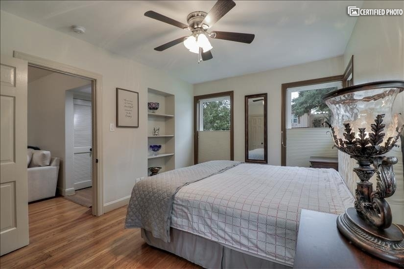 Bed Room # 1 - close to the family room and entrance door.