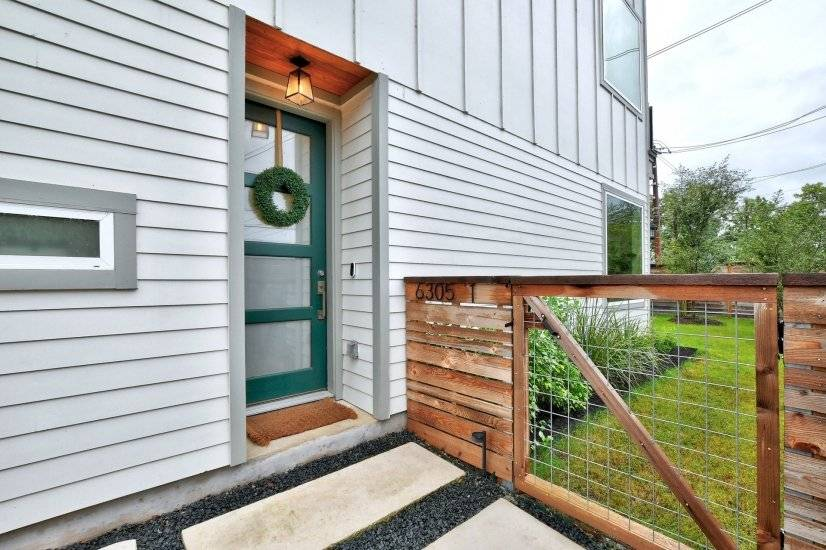 Welcoming and memorable front entry.