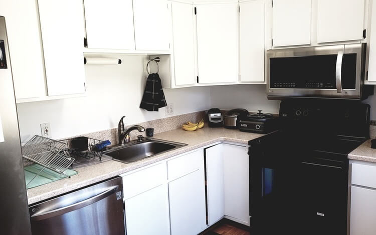 Some full kitchen use available