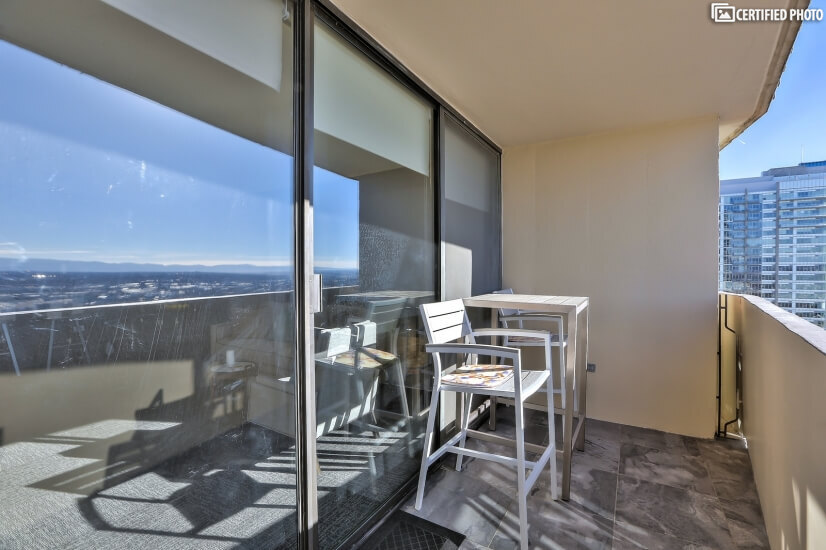 Private Balcony With Views of LoDo