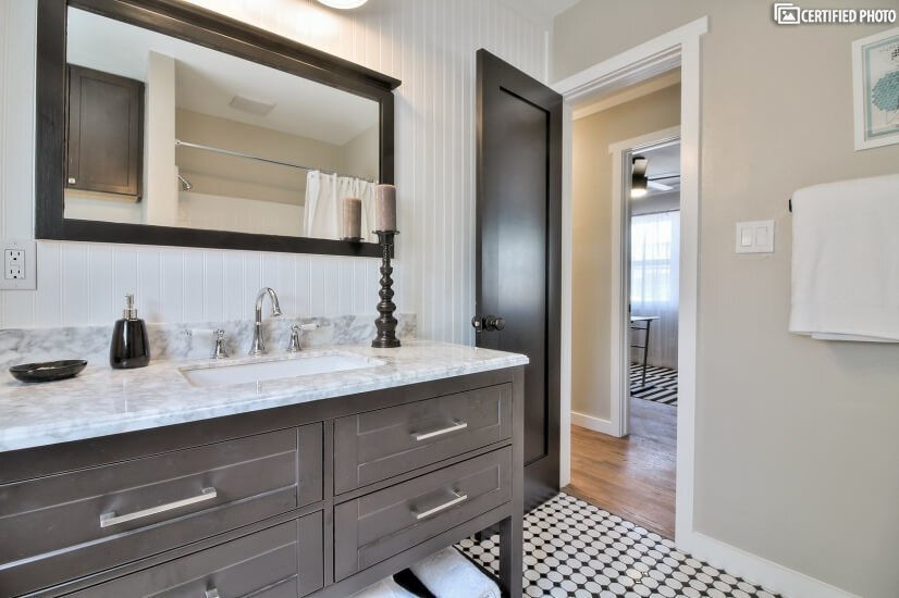 Freshly Updated Bathroom