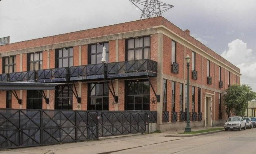 Historic San Jacinto Lofts warehouse, 2 stories, 2nd floor