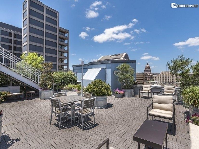 Amazing Roof top deck