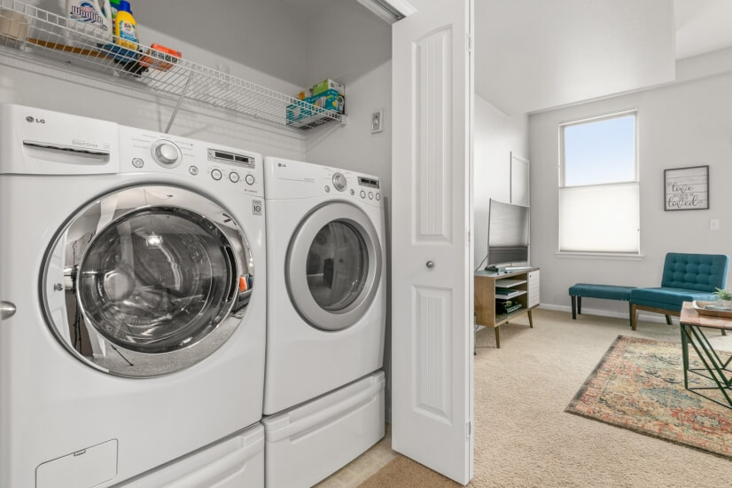 Full Size Laundry in Every Loft