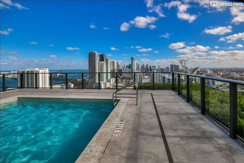 38th Floor Resort Style Pool with a View