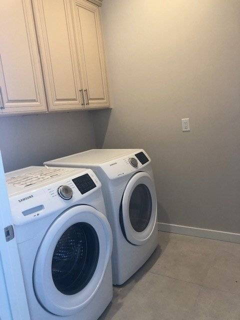 Brand new washer and dryer!