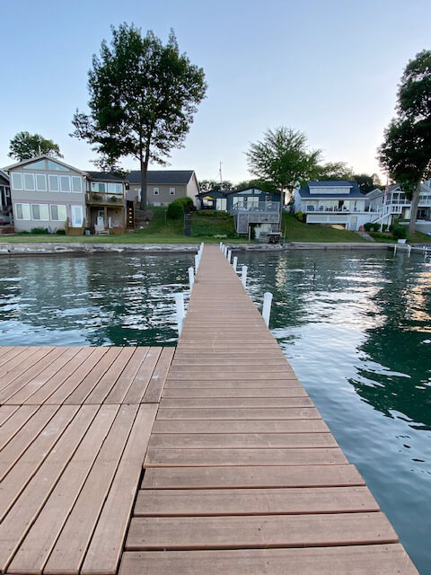 Private Dock for Boat Mooring, Fishing & Swimming