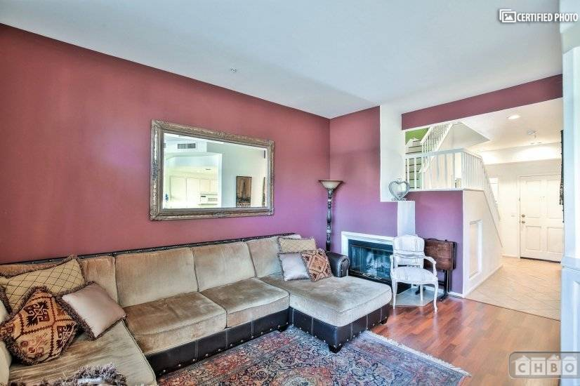 image 3 furnished 2 bedroom Townhouse for rent in Tustin, Orange County