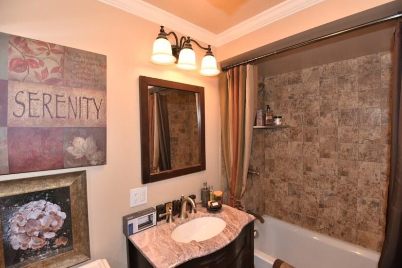 Downstairs Studio Bathroom