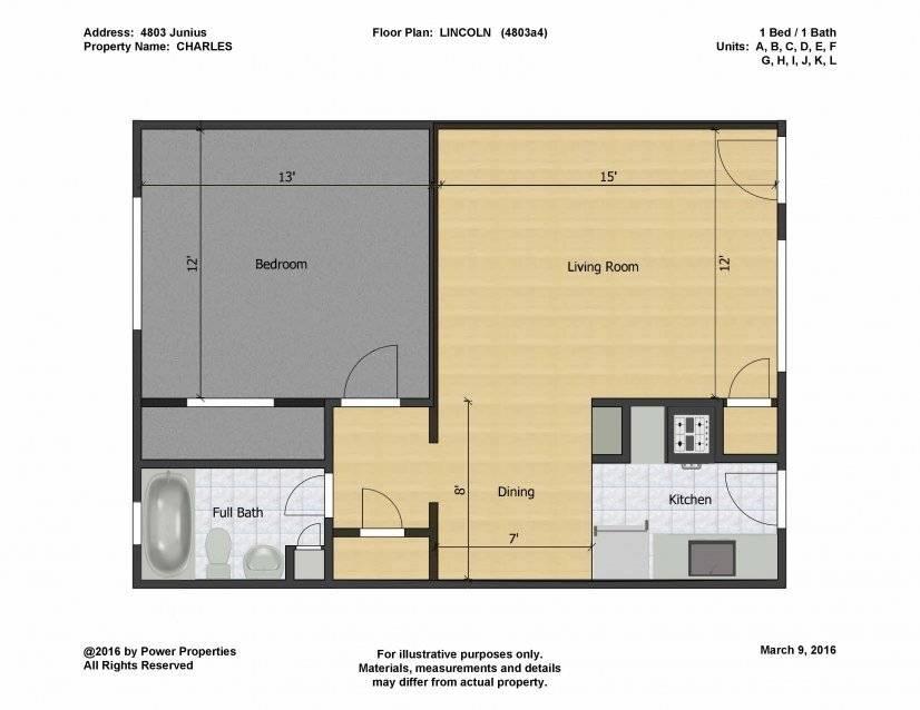 Lincoln Floor Plan