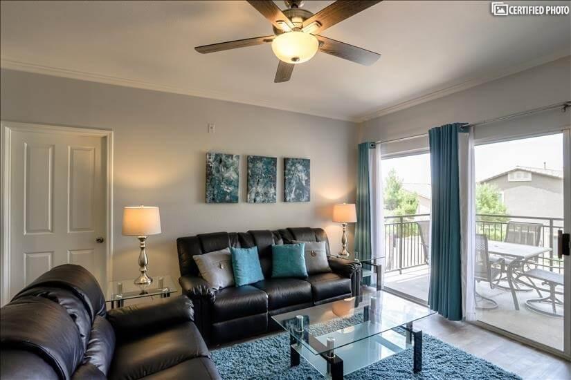 Lovely Inside & Outside Living Spaces