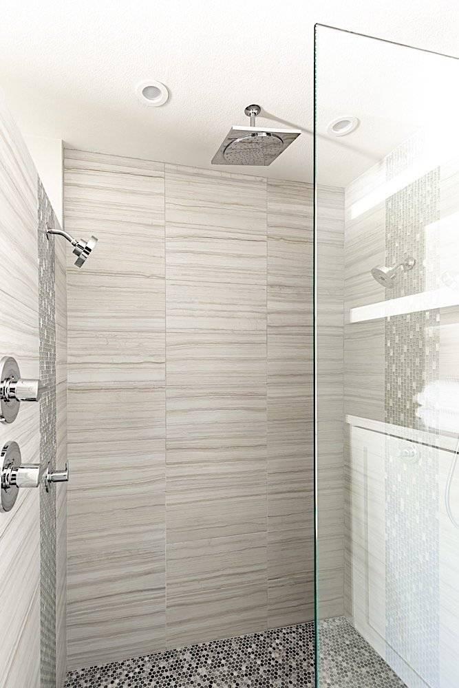 Walk-In Shower (Master Bath)