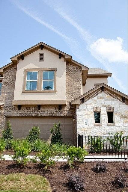 Outside Of TownHome North Austin Corporate rental