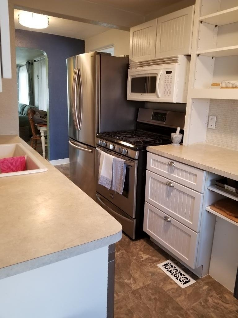 Kitchen Looking Toward Living Room