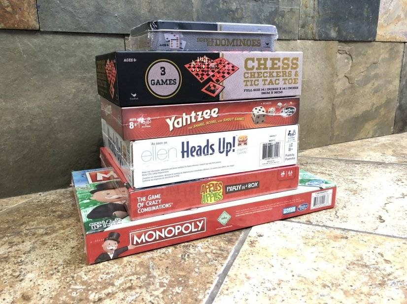 Games provided